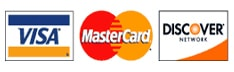 Radon Safety and Liability Protection LLC accepts MasterCard, Visa and American Express